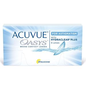 Imagine ACUVUE® OASYS® for ASTIGMATISM