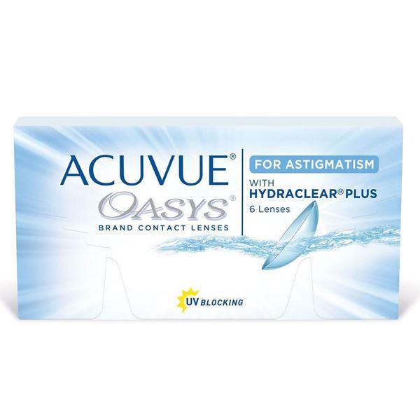Imagine ACUVUE® OASYS® for ASTIGMATISM