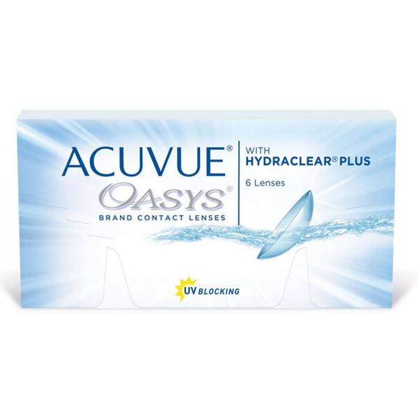 Imagine ACUVUE® OASYS® with HYDRACLEAR® PLUS