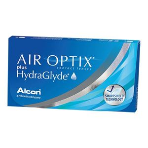 Imagine AIR OPTIX® plus HydraGlyde®