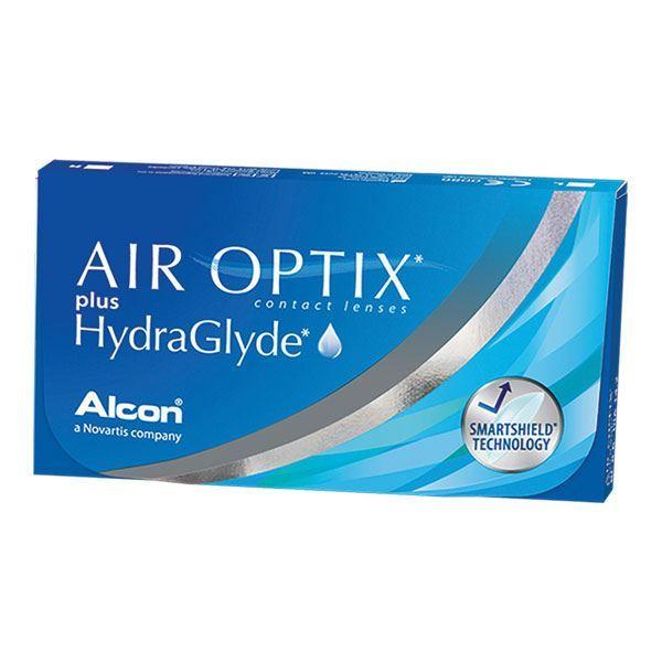 Imagine AIR OPTIX® plus HydraGlyde®
